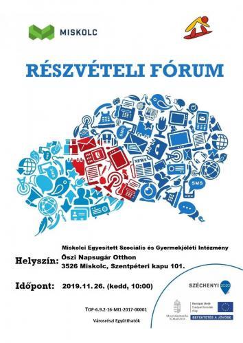 Részvételi Fórum 2-es célterület (november)
