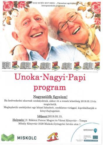 Unoka-Nagyi-Papi program 4-es célterület